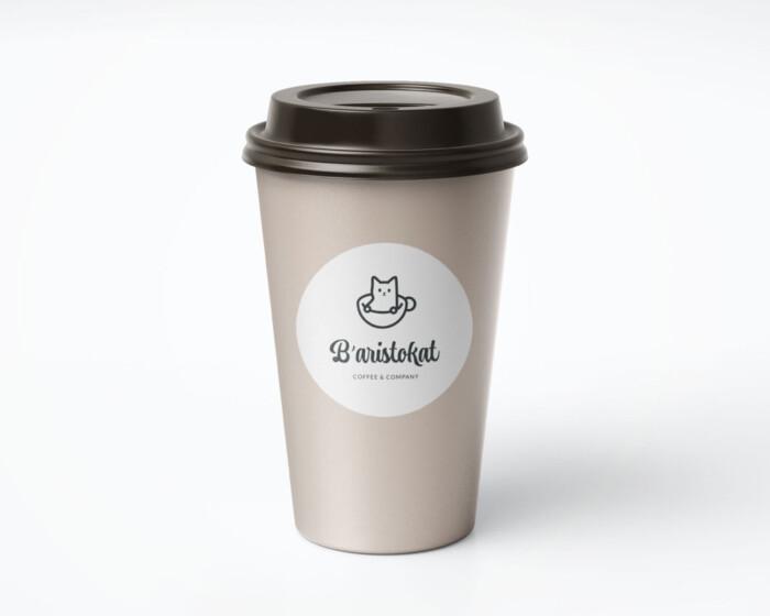 Baristokat coffee cup