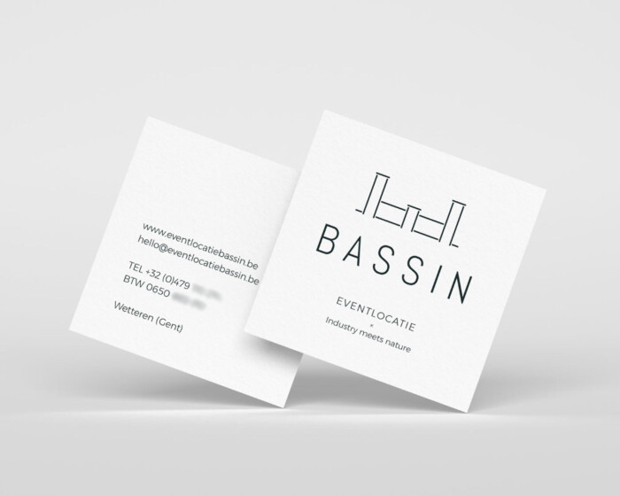 Bassin business cards