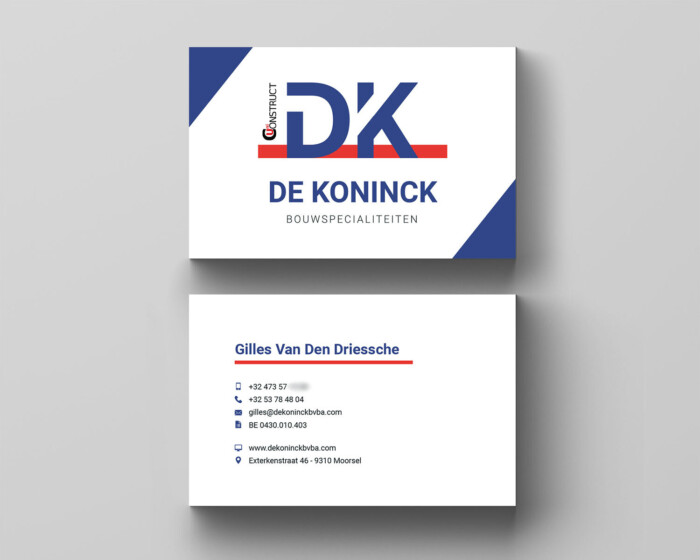 De koninck businesscards