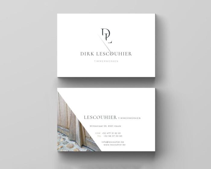 Dirk lescouhier business cards