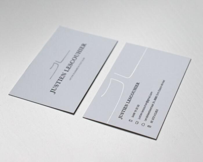Justien lescouhier business cards 2 LR